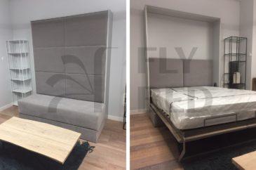 выполненный проект кровати-трансформера