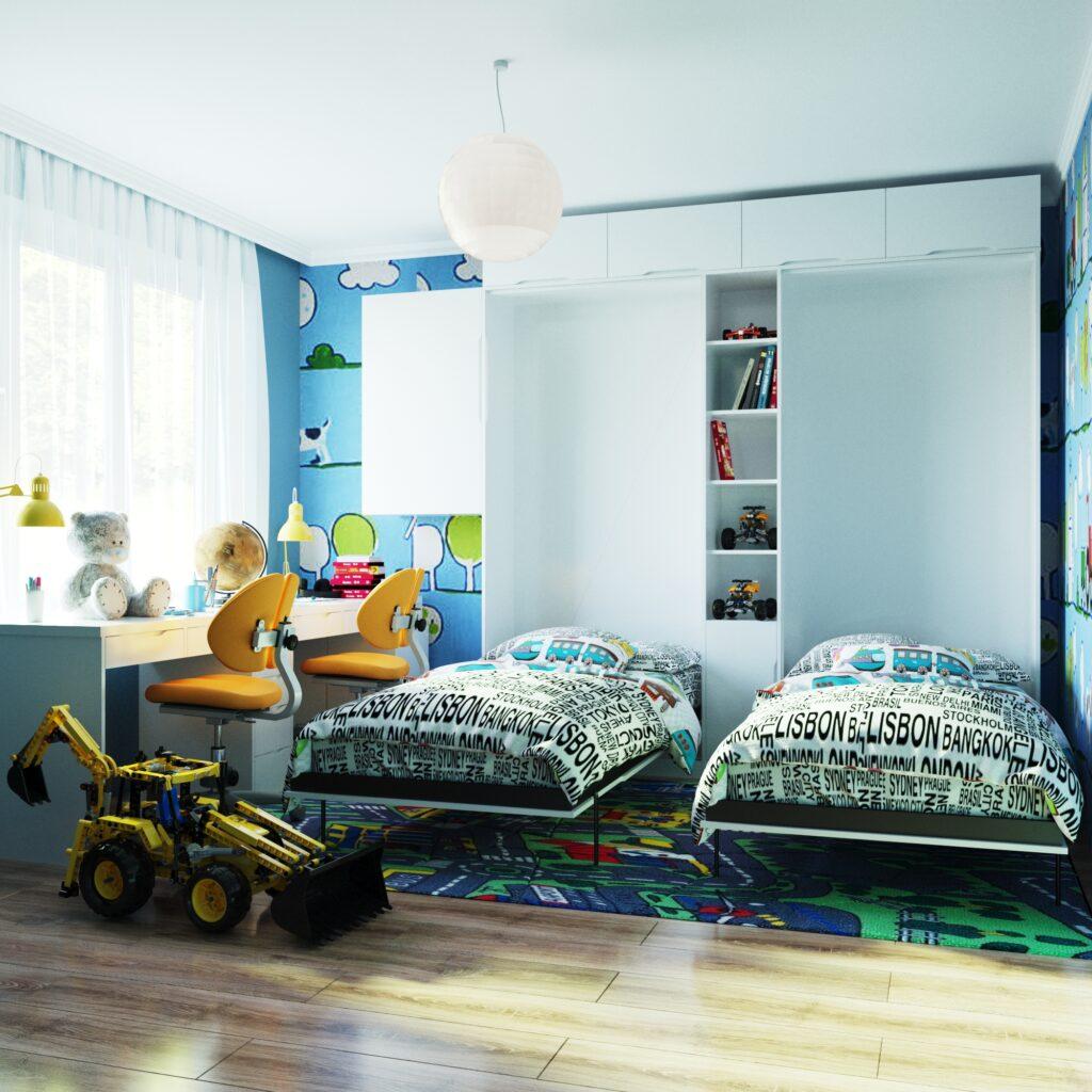 мебель трансформер в детскую комнату