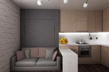 кровать-трансформер для квартиры-студии