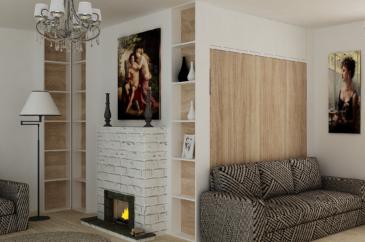 Мебель в скандинавском стиле в гостинную